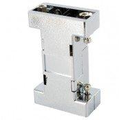 Adaptergehäuse metallisiert Buchse/Buchse