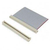 Flachkabelsteckverbinder nach DIN 41651