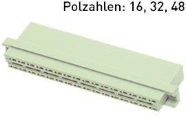 Modulstecker für 1x1 mm Wickelstifte (Crimpkontakte auf Anfrage)