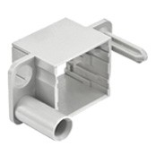HMC Andockrahmen Kunststoff - Baugröße Han® 6B für 2 Module