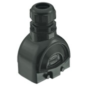 Han-Modular® ECO Kunststoff 10B für 4x1er Module