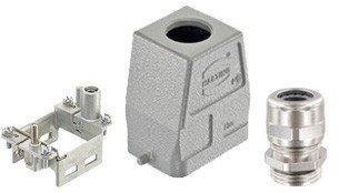 Han-Modular® Gelenkrahmen und Gehäuse (Steckerbausatz kundenspezifisch 63/xxxxxx)