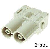 Han® 70 A Modul (=1er Modul) Axialschraubanschluss