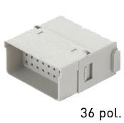 Han® Full Density Modul (=1er Modul) D-Sub Crimp