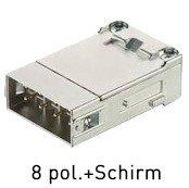 Han® Gigabit Modul (=1er Modul) D-Sub Crimp Kat. 7A