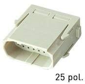 Han® High Density Modul (=1er Modul) D-Sub Crimp