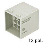 Han® Multi Modul 12-polig (=2er Modul) DIN 41626