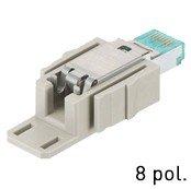 Han® RJ45 Datensteckverbinder Kat. 6A feldkonfektionierbar