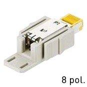 Han® RJ45 Datensteckverbinder Kat. 6 feldkonfektionierbar