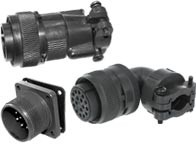 IP 55 Steckverbinder nach MIL C-5015