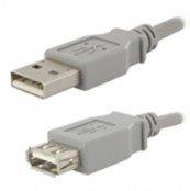 Stecker USB 2.0 Typ A auf Buchse USB 2.0 Typ A