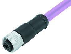 Kabeldosen am Kabel umspritzt