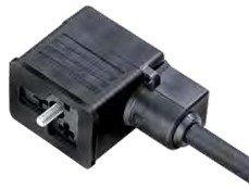 Magnetventildosen am Kabel umspritzt