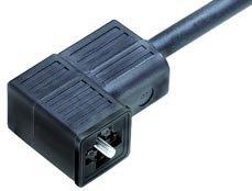 Magnetventildose am Kabel umspritzt