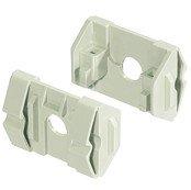 Wandhalterung für Wandausschnitt Blechstärke 1,3...3mm