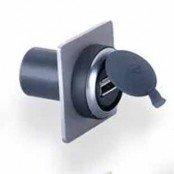USB-Durchführungen USB 2.0 Typ A/B