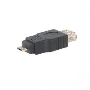 USB 2.0 ADAPTER SCHWARZ MICRO-B/A STECKER/STECKER