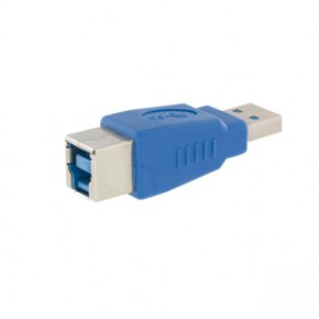 USB 3.0 ADAPTER BLAU A/B STECKER/BUCHSE
